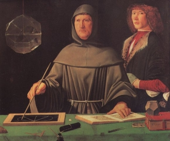 Ritratto di Frà Luca Pacioli, 1495