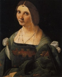 Bianca Maria Sforz by Leonardo da Vinci