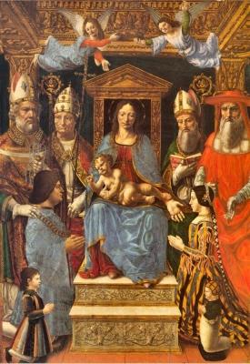 Cristoforo Solari, Funerary statues of Ludovico il Moro and Beatrice d'Este, begun 1497
