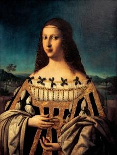 1500 ca. Beatrice dEste by Bartolomeo Veneto