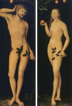 Adam and Eve, 1528 Uffizi