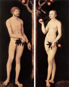 Adam and Eve 1531 Gemaeldegalerie Alte Meistery