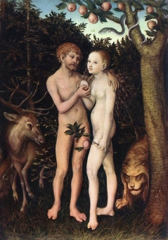 Adam and Eve 1533 Staatliche Museen zu Berlin, Germany
