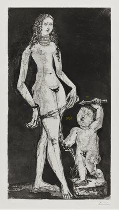 Venus and Cupid, After Cranach