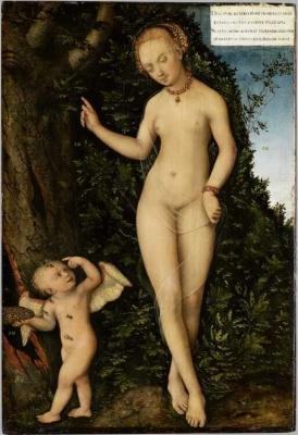Venus and Cupid as the Honey Thief 1537 Germanisches Nationalmuseum, Nuremberg