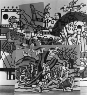 Fernand Léger by Robert Doisneau