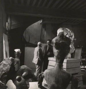 Pablo Picasso; Balthus 1945 by Cecil Beaton