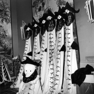 Masks and Dominoes  by Robert Doisneau