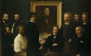 Hommage à Delacroix