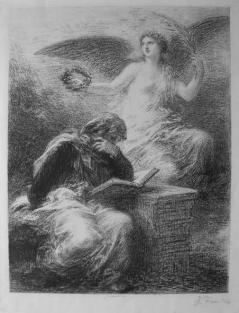 Henri Fantin-Latour. La Gloire 1890