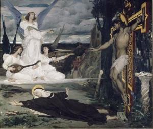 Merson Luc-Olivier - La vision, légende du 14e siècle
