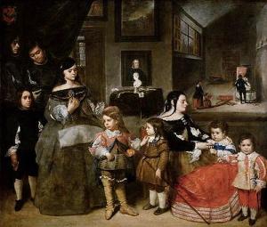 La familia del pintor Juan Bautista Martínez del Mazo