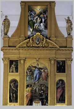 The Santo Domingo el Antiguo Altarpieces (1577-79) by EL GRECO