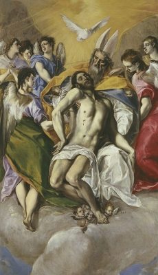 The Trinity by EL GRECO Museo Nacional del Prado