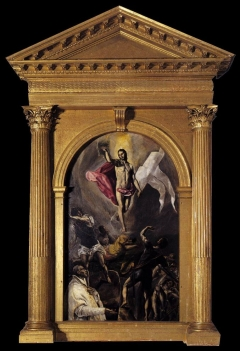 The Resurrection Church of Santo Domingo el Antiguo, by EL GRECO  Toledo