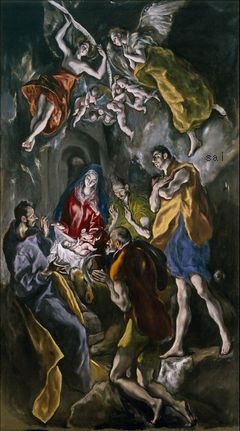 Adoration of the Shepherds Museo Nacional del Prado