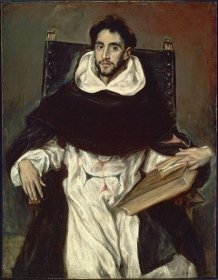 Portrait of Fray Hortensio Felix Paravicino(Hortensio Félix Paravicino) by ElGreco Museum of Fine Arts, Boston