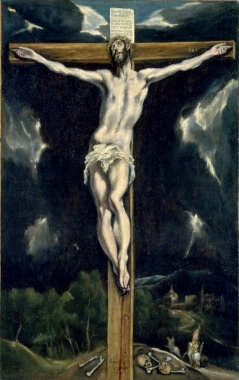 Christ on the Cross by EL GRECO The National Museum of Western Art