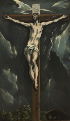 Christ on the Cross 1600-10 by El Greco  Cleveland Museum of Art