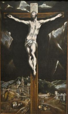 El Greco - Christ in Agony on the Cross - Cincinnati Art Museum El Greco