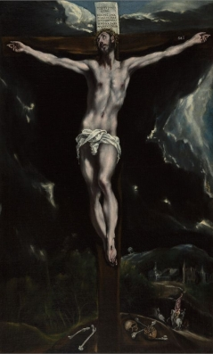 Christ on the Crossby El Greco (Doménikos Theokópoulos), c. 1600, Getty Center