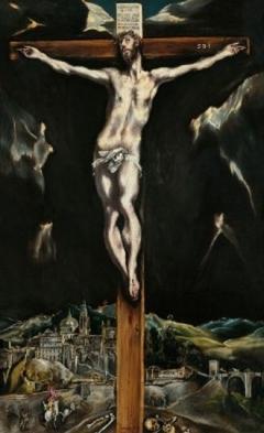 El Greco - Cristo agonizante - Colección Fundación Banco Santander