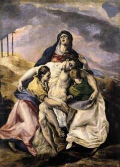 Pietà by El Greco The Hispanic Society of America