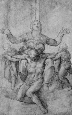 Michelangelos Pietà per Vittoria Colonna