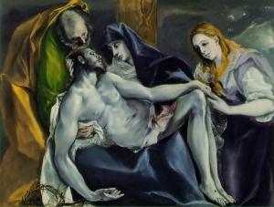 Pieta by El Greco 1587-97 Stavros Niarchos Collection, Paris