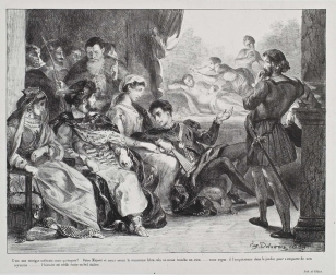 Act III, scene ii. The play-scene. 1838