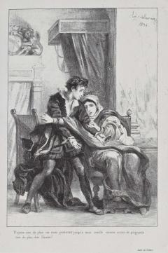 Act III, scene iv. Hamlet and Gertrude. 1834