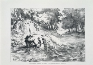Act IV, scene vii. The death of Ophelia. 1843