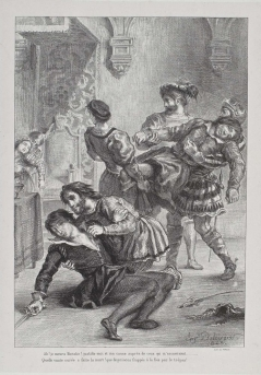 Act V, scene ii. The death of Hamlet. 1843