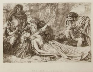 Sir Joseph Noel Paton, King Lear