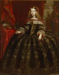 Gerard Du Chateau Infantin Margarita Teresa (1651-1673), Kaiserin, Bildnis in ganzer Figur Kunsthistorisches Museum