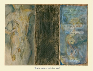 What a piece of work is a man! Mary Heebner illustrates Shakepeare's classic, Hamlet