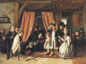 Charles Hunt - The Play Scene In Hamlet