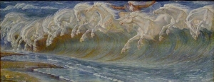 Neptunes Horses by Walter Crane
