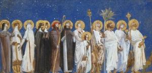 Saints en procession by LUC-OLIVIER MERSON