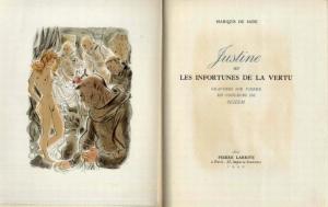 Marquis De Sade: Justine illustrations by Schem