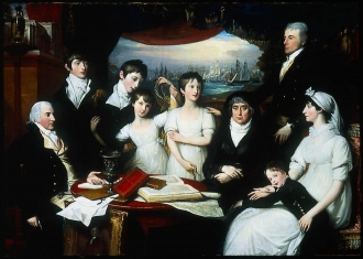 Benjamin West / The Hope Family of Sydenham, Kent / 1802