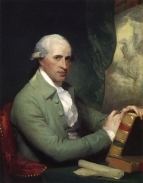 Benjamin West by Gilbert Stuart 1783-84