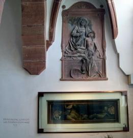 Stiftskirche St. Peter und Alexander, Aschaffenburg, Beweinung Christi von Mathias Grünewald