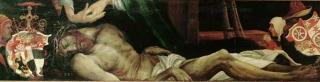 Beweinung Christi etwa 1525 Aschaffenburg, Stiftskirche St. Peter und Alexander