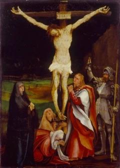 Matthias Grünewald Die Kreuzigung Christi, um 1515 (?) Kunstmuseum Basel