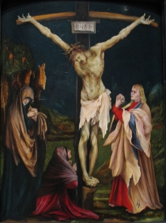 Matthias Grünewald The Small Crucifixion - National Gallery of Art