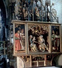 Standort: Nürnberg, Kirche (evangelisch-lutherisch), Sankt Lorenz Annen-Altar Hans Suess Kulmbach