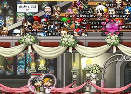 guerri、まー結婚式