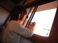 窓から1ショット