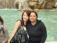 Infront of Trevi Fountain